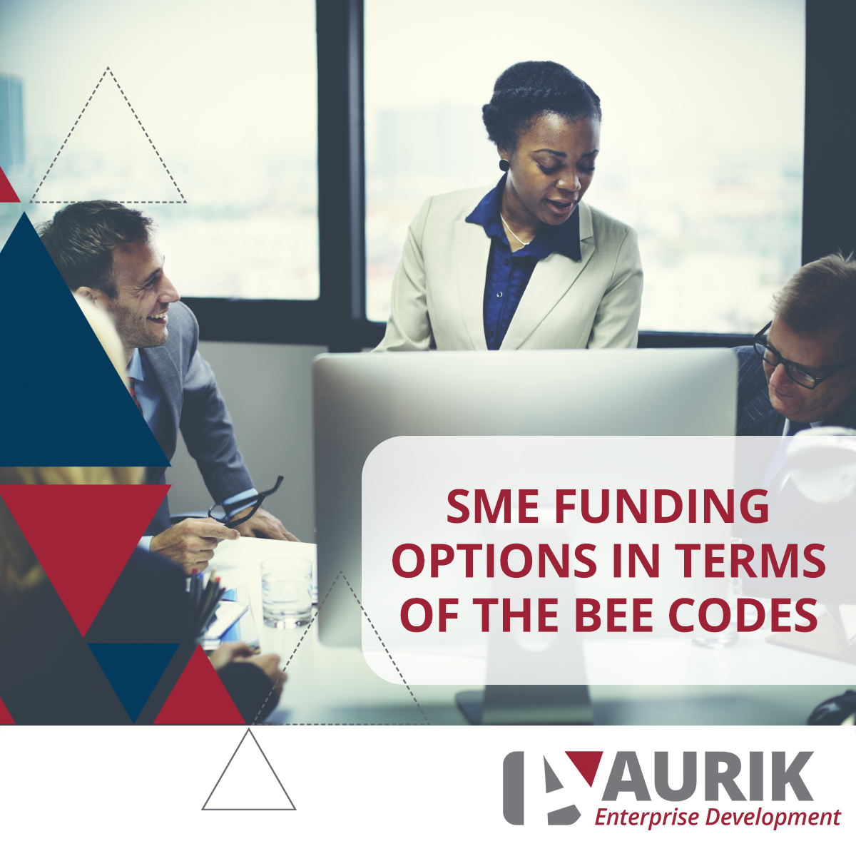 SME funding options in terms of the BEE codes?